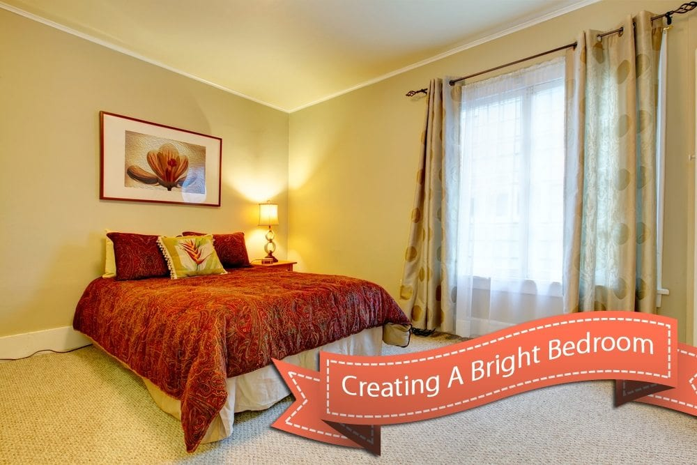 creating a bright bedroom