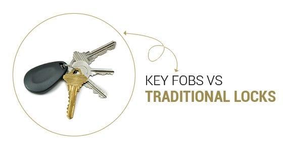 key fobs vs traditional locks
