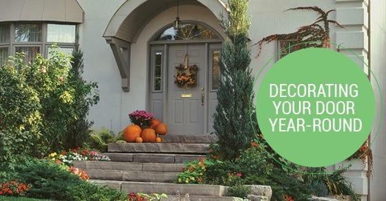 decorating your door year-round