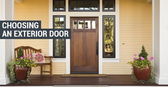 Choosing-An-Exterior-Door