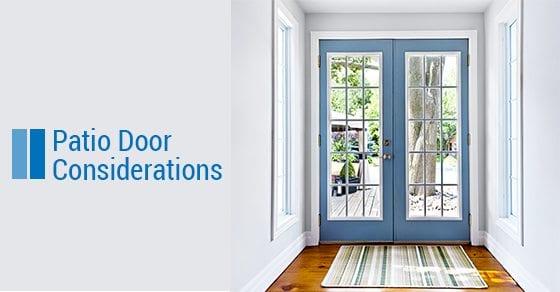 Patio-Door-Considerations