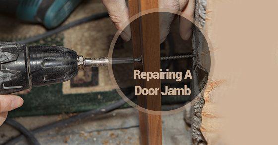 Repairing-A-Door-Jamb