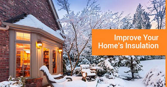 improve your home insulation