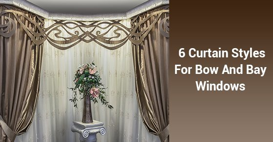 6 Curtain Styles For Bow And Bay Windows