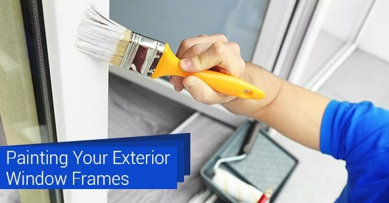 Painting-Your-Exterior-Window-Frames