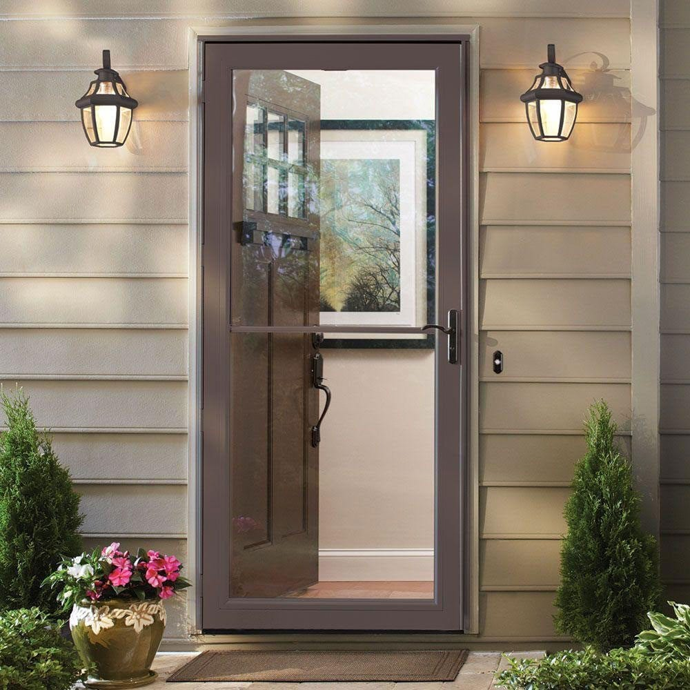 Energy efficient storm doors toronto clera windows doors for Exterior screen doors