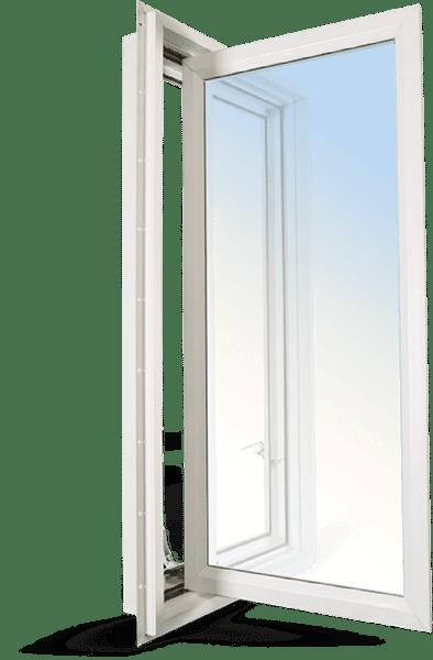 Clera's vinyl casement window