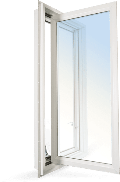 Clera's vinyl casement window