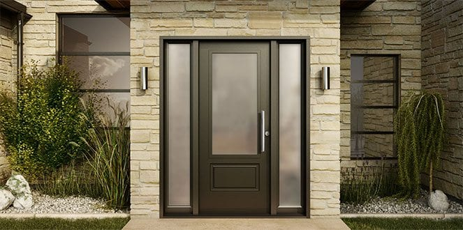 entry doors with fiber glasses