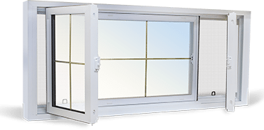 End Vent Slider Windows
