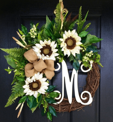 DIY Door Wreath Ideas For Fall