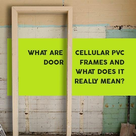 cellular pvc door