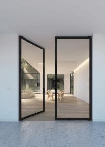 Steel Glass French Doors