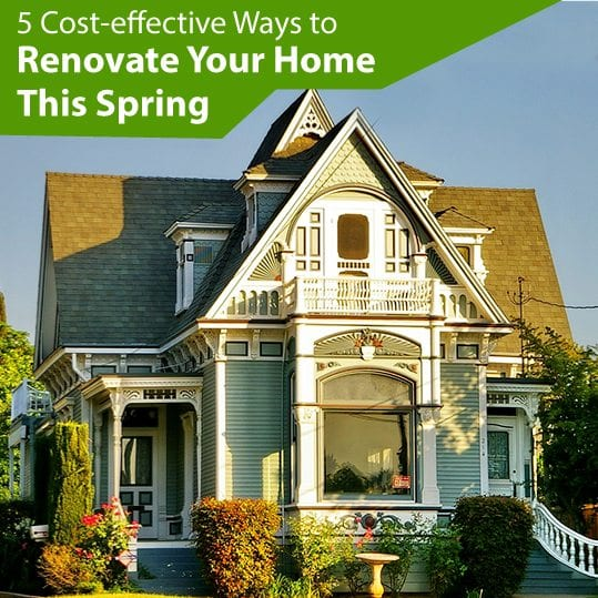 Cost effective Ways To Renovate Your Home This Spring