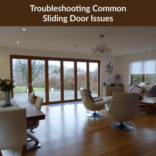 Troubleshooting Common Sliding Door Issues