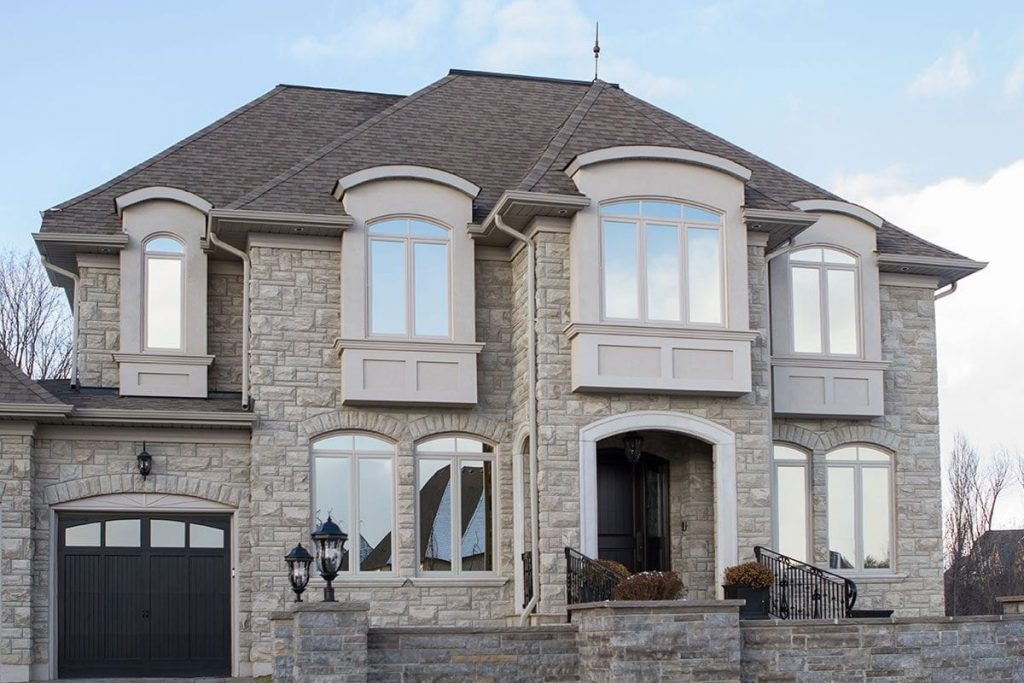 Home with new windows in Toronto installed by Clera Windows and Doors
