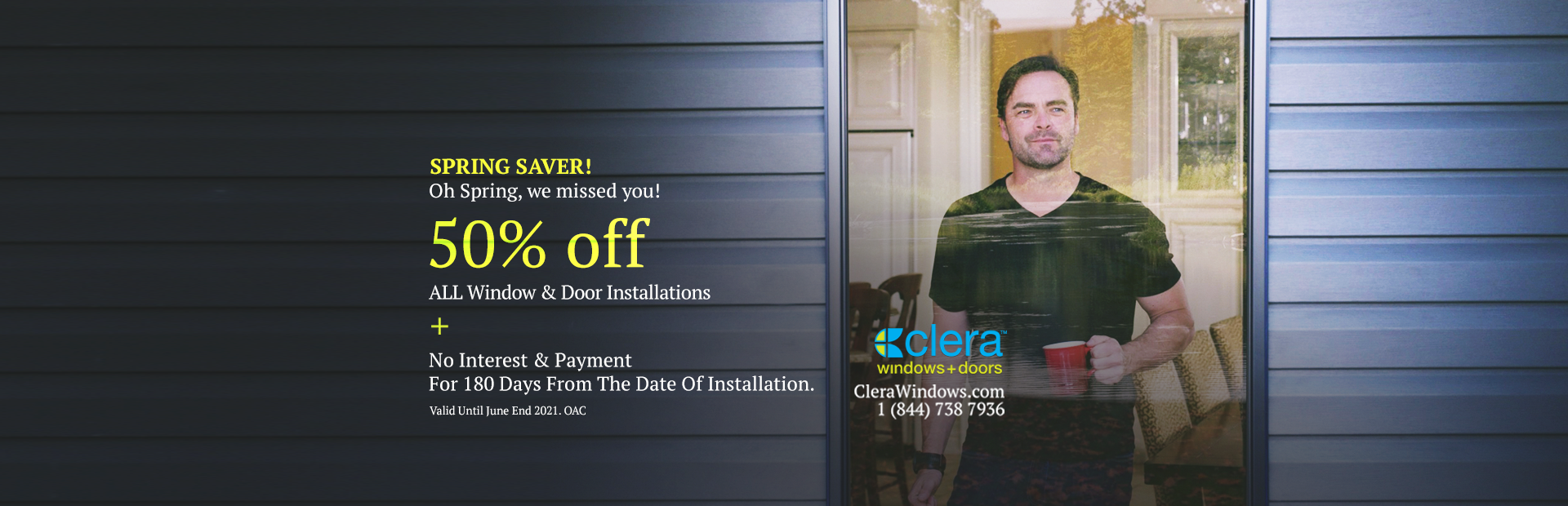Spring Sale Promo Home Page