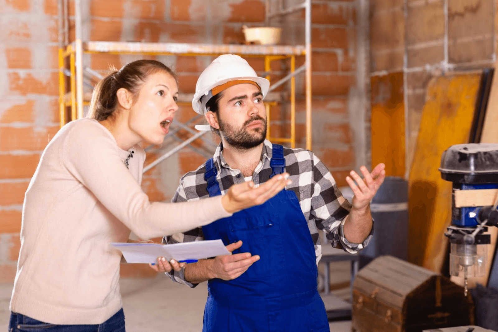 A homeowner dissatisfied with the work of a home renovator