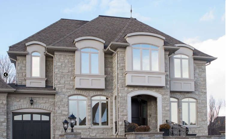 Specialty shape windows used in combination with operational windows