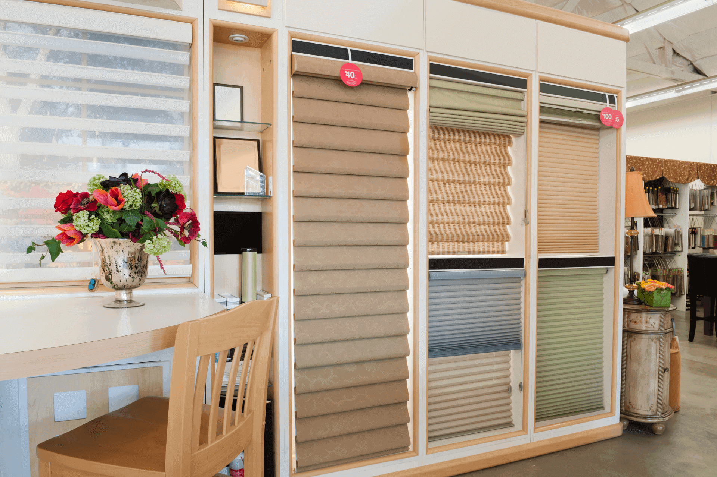 A window showroom
